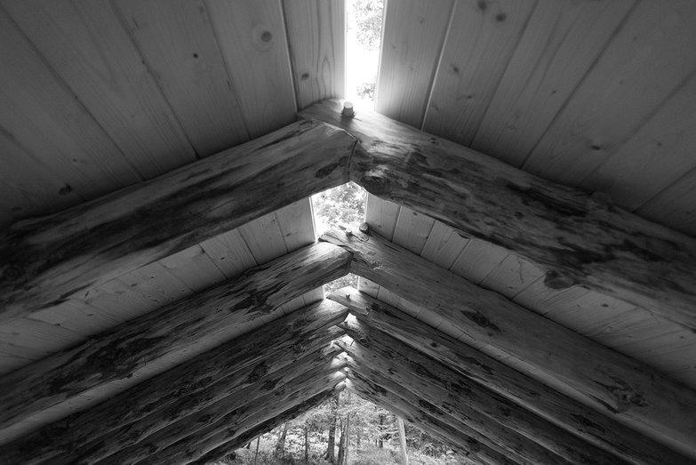Grindbygg Timber Frame Rafter Peak