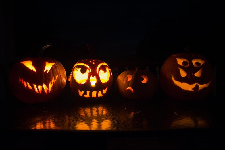 Tyler, Steph, Tara & Lisa's Jack-o-Lanterns