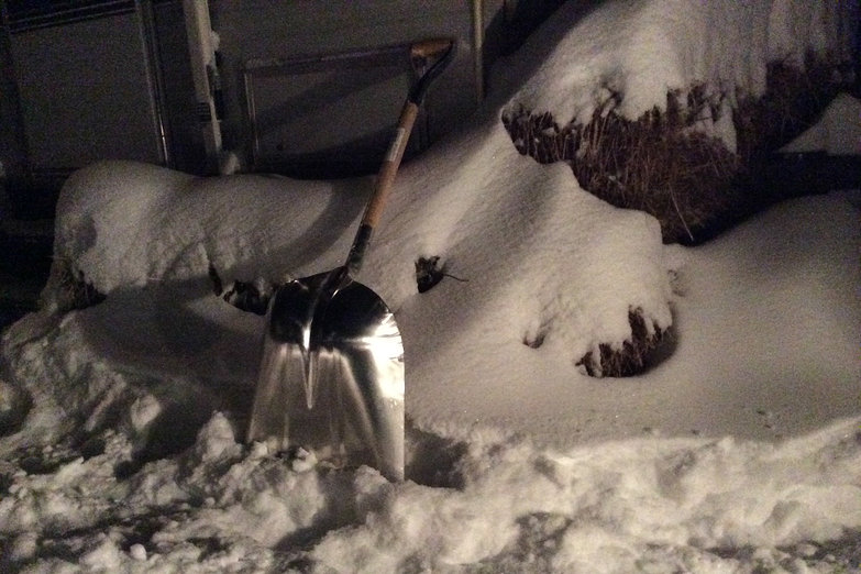Snow Shovel by Camper