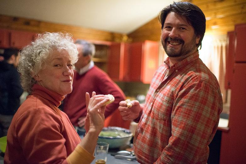 Joan & Jeremy at Tara's Surprise Party