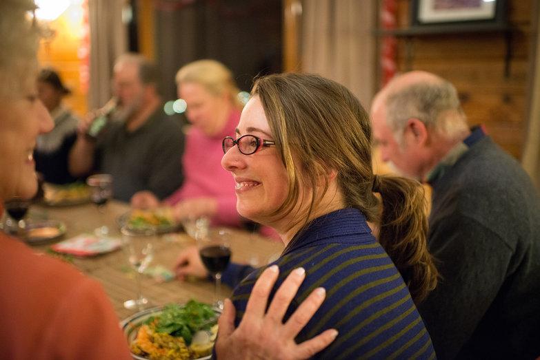Tara at Surprise Party