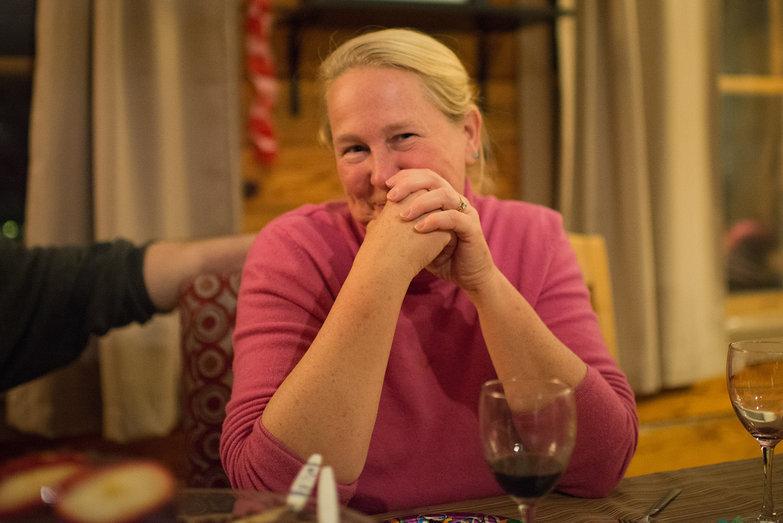 Patty at Tara's Surprise Party