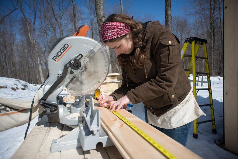 Tara Measuring Siding for Solar Shed
