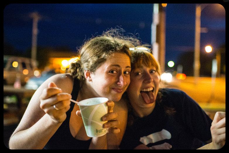Tara & Steph @ Custard Cup