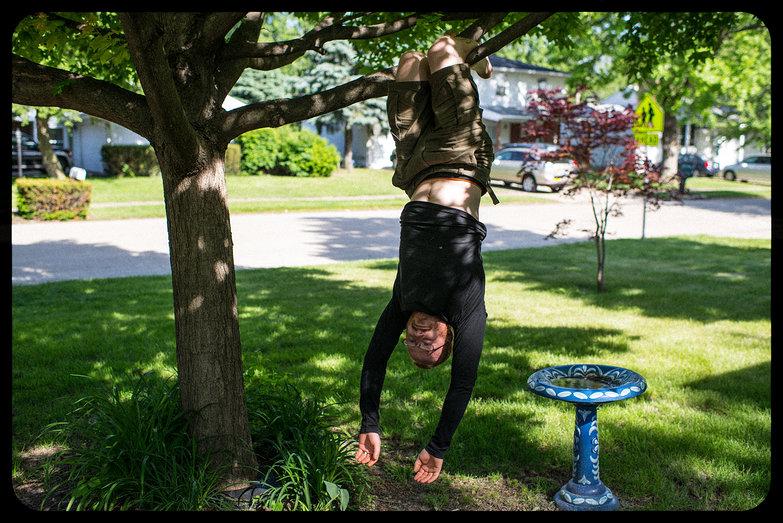 Tyler Hanging Around