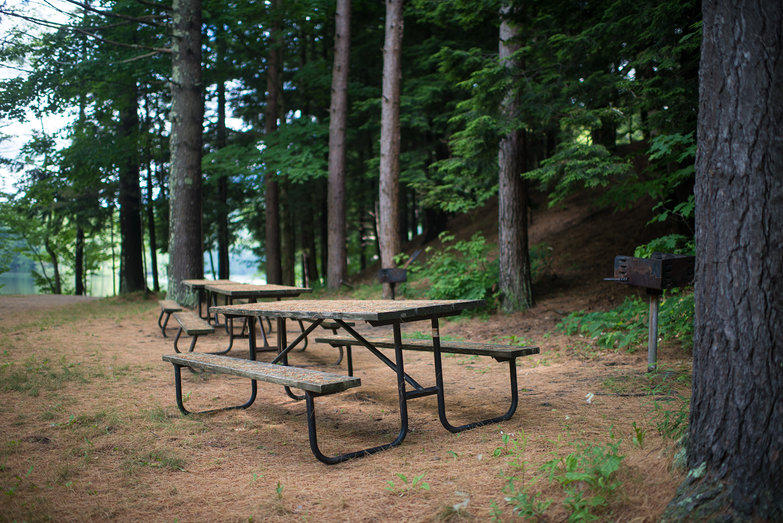 Picnic Tables @ Emerald Lake