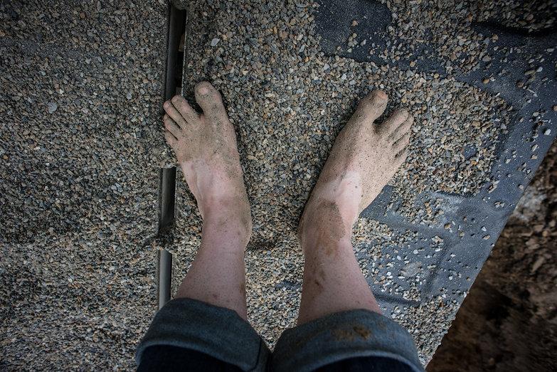 Tara's Sandy Feet