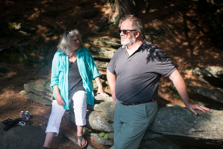 Becky & Charlie at Hamilton Falls