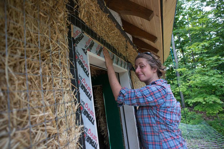 Tara Installing Flashing Around Doorway