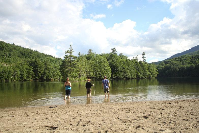 Us & Pete at Emerald Lake (by Natasha)