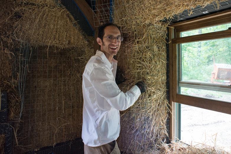 Greg Helping Shape Window Reveals