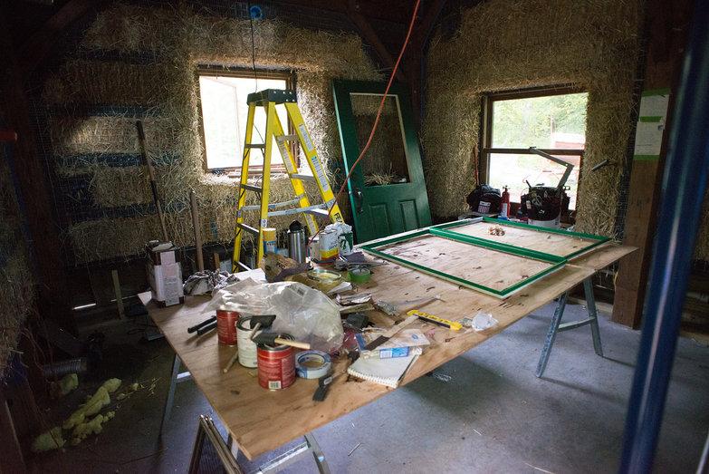 Painting Door Trim, Our House in Progress