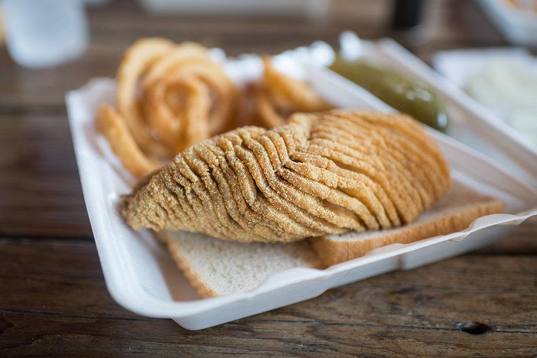 Fried Buffalo Fish