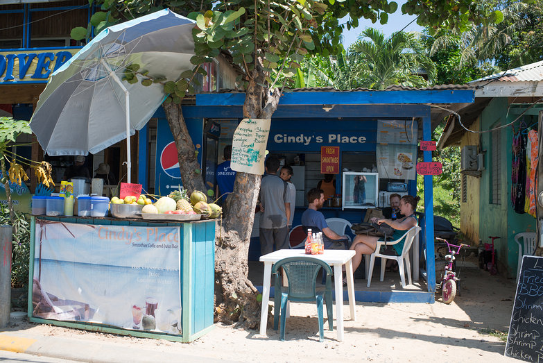 Cindy's Place in West End Roatan