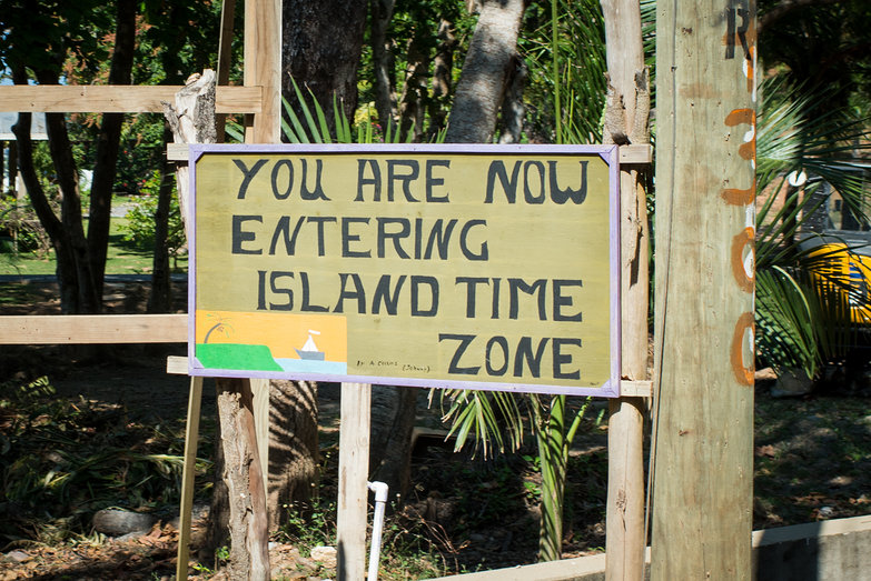 You Are Now Entering Island Time Zone