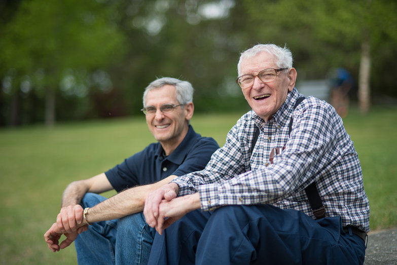 Dad/Mark & Grandpa Don @ Lake Shaftsbury