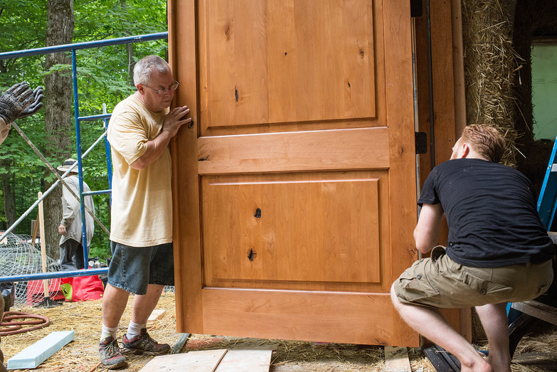 Dale & Tyler Hang Doors