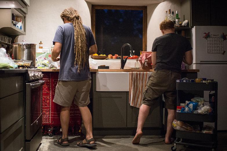 Shlomy & Tyler in the Kitchen