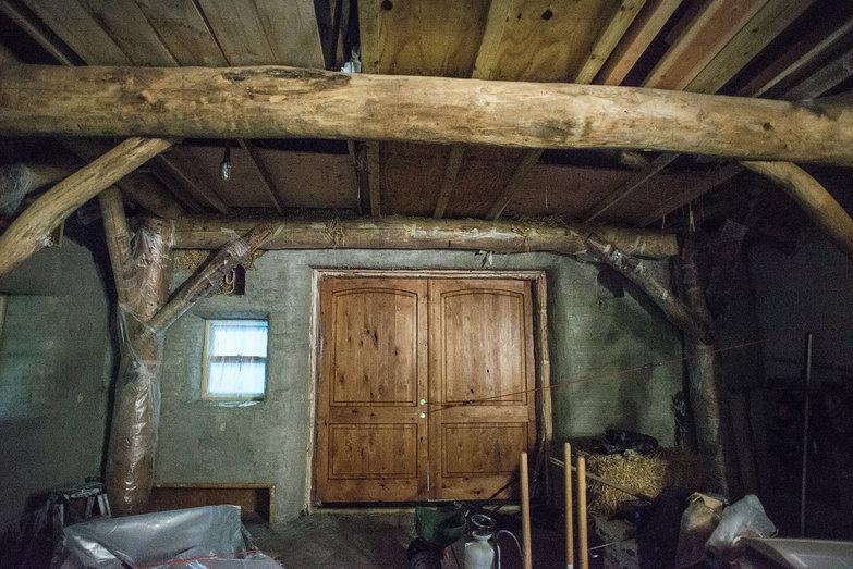 Plastered Grindbygg Interior