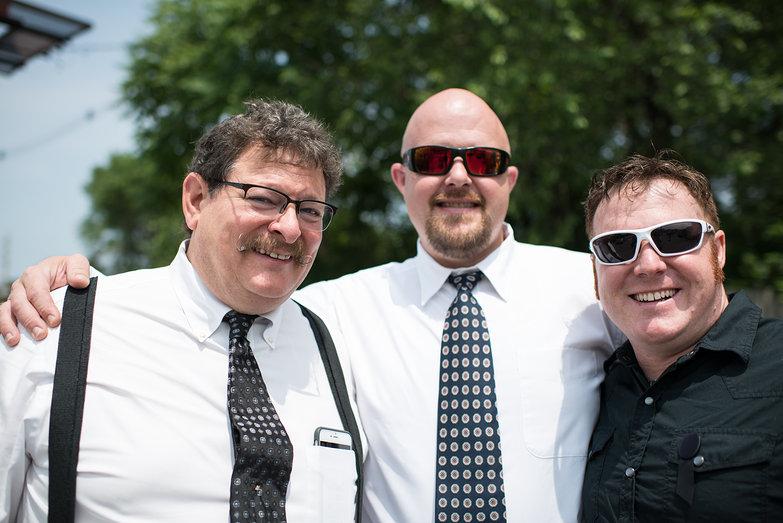 Uncle Brian, Aaron, & Danny