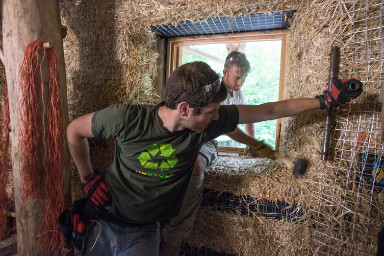 Dan & Josh Making Window Reveals
