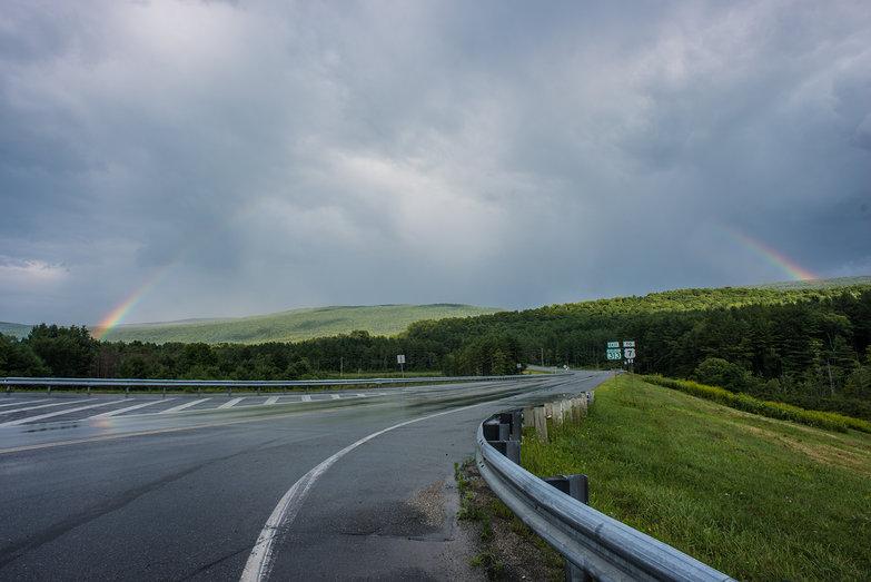 Rainbow in Vermont