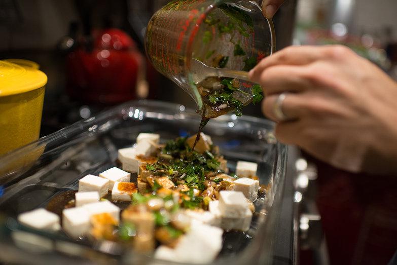 Shlomy's Tamari Tofu