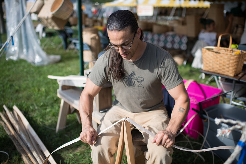Common Ground Country Fair Basket Maker