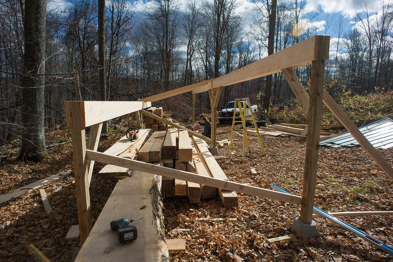 Tara Building Woodshed