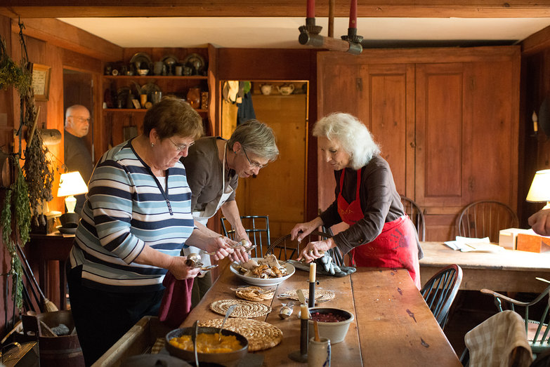 Sally Brillon's Hearth Cooking Class