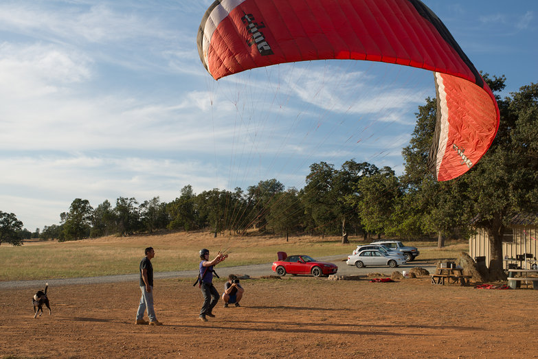 Tara Kiting Paragliding Wing