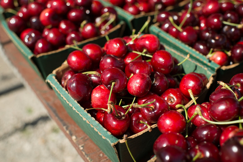 Roadside Cherries!