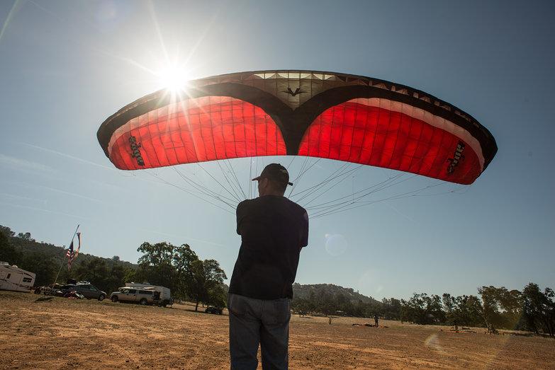 Joe Kiting Paraglider Wing
