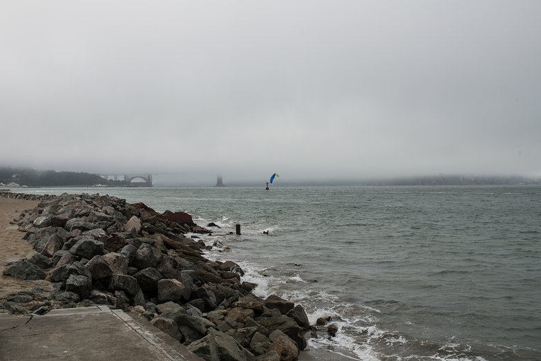 San Francisco Bay in Fog