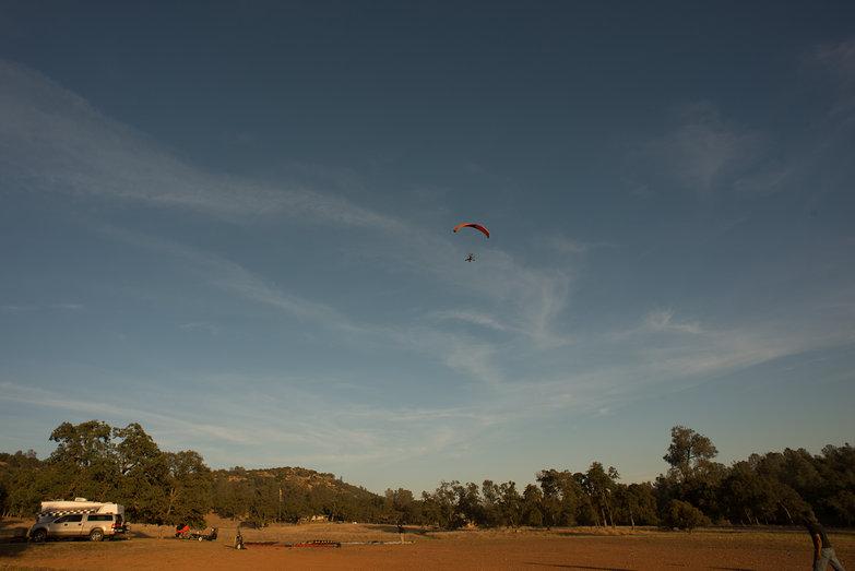 Tara's First Flight (in LowBoy II Quad Paramotor)
