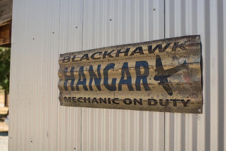 BlackHawk Paramotor's Hanger