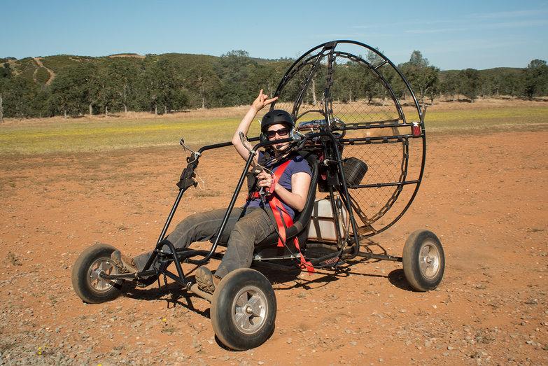 Tara Driving BlackHawk LowBoy II Paramotor Quad