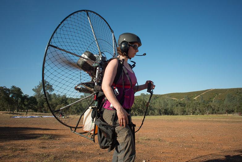 Tara Testing BlackHawk 125 Paramotor