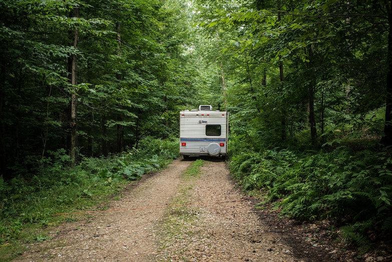 Camper Being Hauled Away!