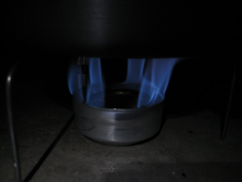 Penny Alcohol Stove: Methanol