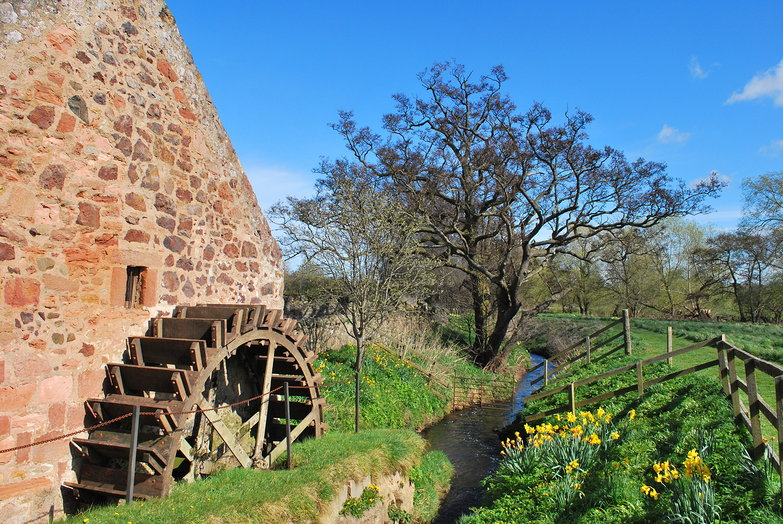 Preston Mill Wheel