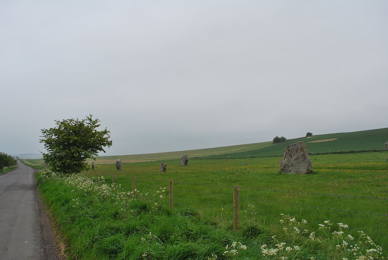 Outside Avebury