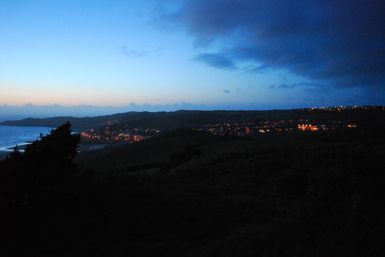 Woolacombe at Night