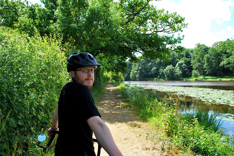 Tyler on Canal Path