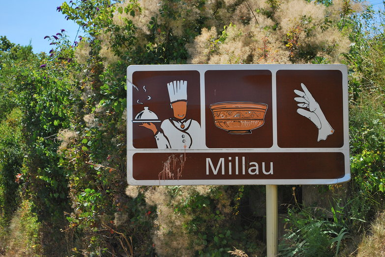 Millau Road Sign (!?)