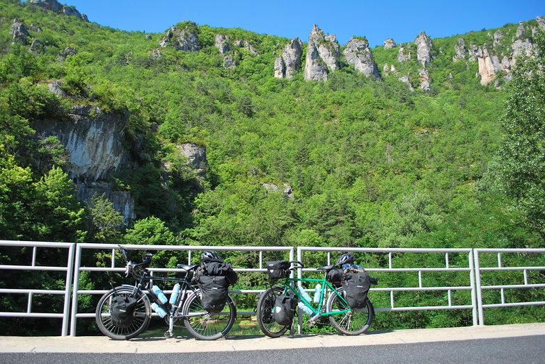 Bikes on Bridge