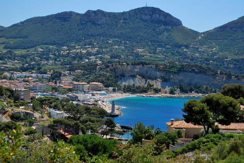 Cassis From Afar