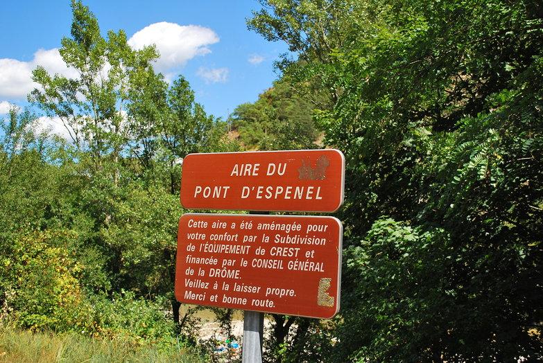 Aire de Pont d'Espenel