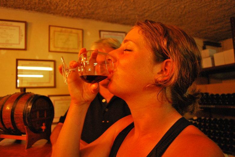 Tara Drinking