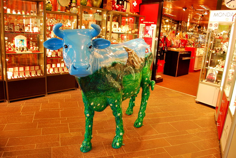 Souvenir Shop Cow